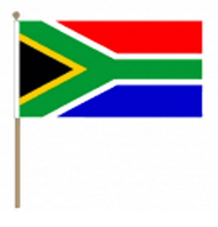 SA Hand Waving Flags