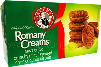 Romany-Creams Mint Choc 200gm