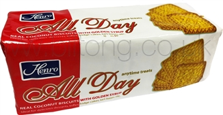 2 For 1 Henro All Day  Biscuits 200g Tennis  Biscuits