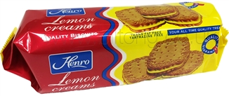 Henro Lemon Creams  Biscuits 150g