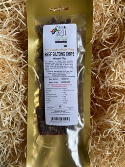 Beef Biltong Chips 75g pre-pack
