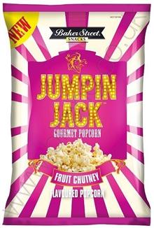 Jumping Jack Fruit Chutney Popcorn 100g