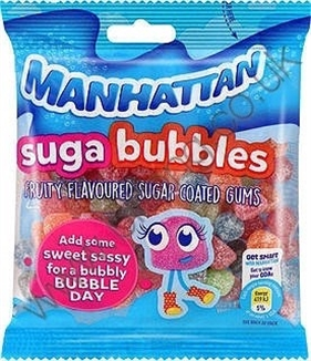 Manhattan Suga Bubbles 125g