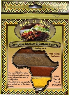 Taste of Africa Durban Indian Mutton Curry Spice 54g