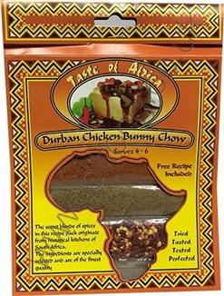 Taste of Africa Durban Chicken Bunny Chow Spice 54g