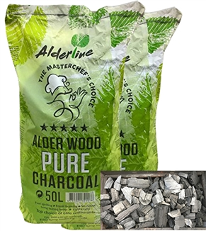 Alder Wood Pure Charcoal 50lt