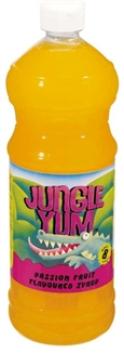 Jungle Yum Passion Fruit Flavoured Syrup 1lt
