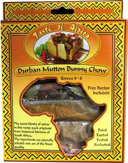 Taste of Africa Durban  Mutton Bunny Chow Spice 54g