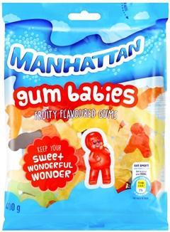 Manhattan Gum Babies 125g