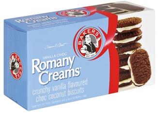 Romany-Creams Vanilla Choc 200gm