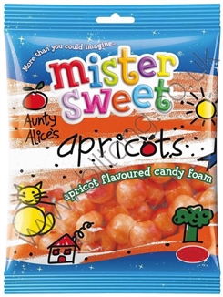 Mister Sweet Aunty Alice Apricots 125g