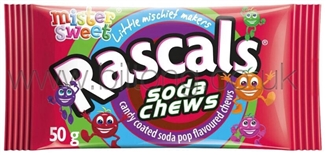Mister Sweet Rascals Soda Flavours 50g