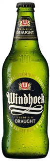 Windhoek Draught 330ml Bottles x 6