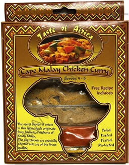 Taste of Africa Cape Malay Chicken Curry 60g