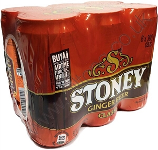 Stoneys ginger beer 6 x 300ml pack