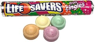 AU Life Savers Fruit Tingles 34g