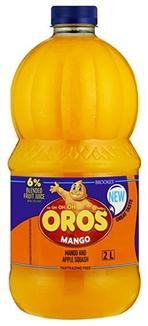 Mango Squash Brooks Oros 2lt