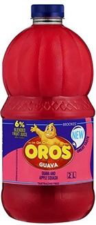 Guava Squash Brooks Oros 2lt