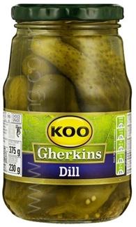 Koo Gherkins Dill 375g