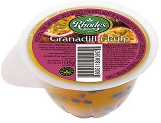 Rhodes Granadilla Pulp 115g