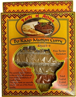 Taste of Africa Bo Kaap Mutton Curry