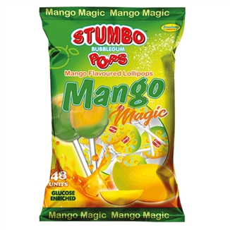 Stumbo Bubblegum Mango Pops x 5