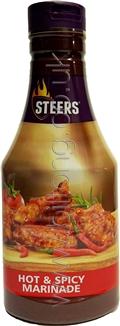 Hot & Spicy Marinade Steers 700ml