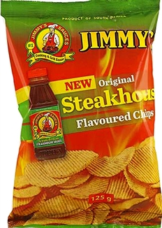 Jimmys Steakhouse Chips 125g