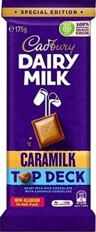 AU Cadbury Caramilk Top Deck 175g