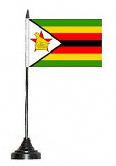 Zimbabwe Desk Flags