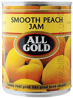 All Gold Peach Smooth  Jam 450g