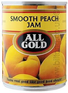 All Gold Peach Smooth  Jam 450g