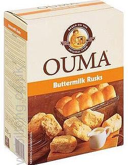 Buttermilk 500gm Ouma Rusks