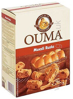 Muesli 500gm  Ouma Rusks