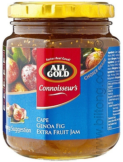 All Gold Cape Genoa Fig Jam Jars 320g