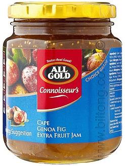 All Gold Cape Genoa Fig Jam Jars 320g