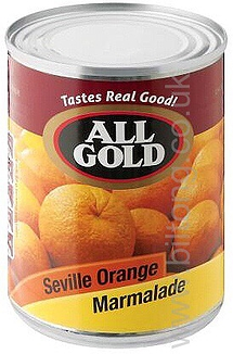 All Gold Seville  Orange Marmalade  tin jam