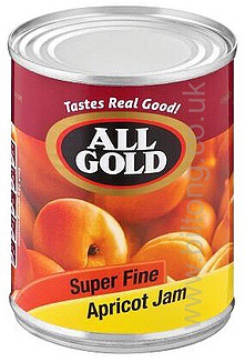 All Gold Apricot  Smooth Super fine Tin Jam 450g
