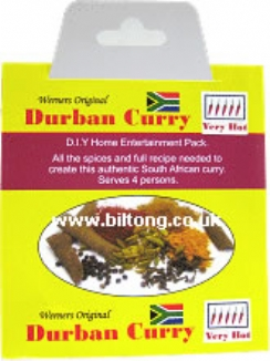 Durban Curry Werners Original Very Hot