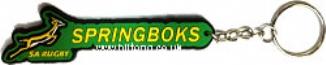 Keyring (PVC) Springboks