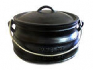 Potjie Pot Flat Size 3 with lid