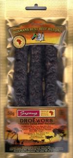 Beef Droewors 50gm Pre-packs