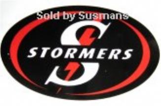 Stickers Stormers  11cm x 7cm